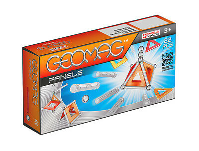 Geomag Magnetic Panels 22 Piece Construction Set - For Ages 3 and Up