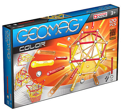 Geomag Magnetic Color 120 Piece Construction Set - For Ages 3 and Up