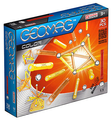 Geomag Magnetic Color 30 Piece Construction Set - For Ages 3 and Up