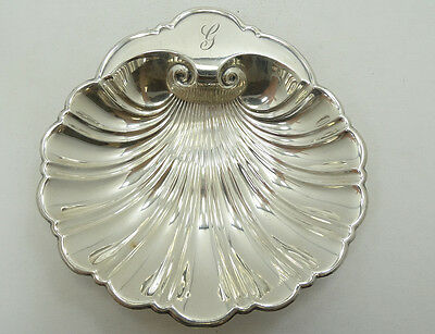 Gorgeous Gorham Sterling Silver Shell Tray Holder A4500