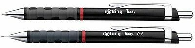 Rotring Tikky Mechanical Pencil 0.5 mm + Ballpoint Pen Black Barrel