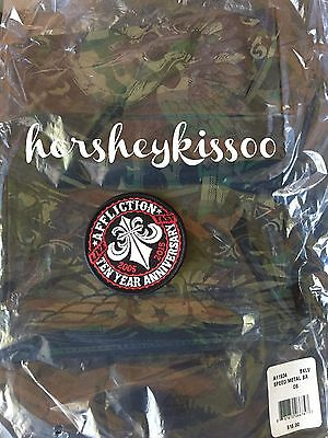 **AFFLICTION Speed Metal Bandana 10 Year Anniversary Patch Lot NWT**