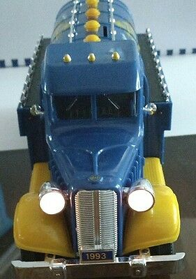 Blue Sunoco Motor Fuel Truck Bank