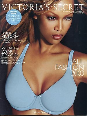 Victoria's Secret Fall Fashion 2003 Vol, I  #2 Vintage Lingerie Catalog
