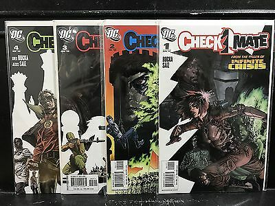 Lot of 4 Checkmate #1 2 3 4 (2006 Series DC) Combined Shipping Deal!
