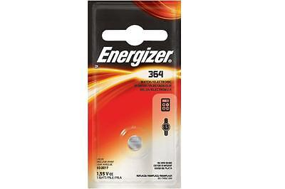 24-Pack 364 / SR621SW Energizer Silver Oxide Button Batteries (On a Card)