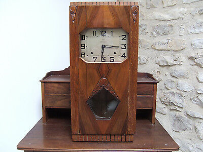 RARE CARILLON ODO No 36 -2 médolies -8 marteaux -8 tiges WALL CLOCK