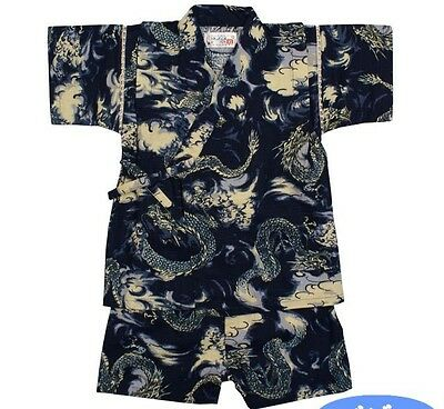 New, Boy's Jinbei, Traditional Japanese clothing (US kid's size 24M)