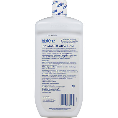 Biotene Dry Mouth Oral Rinse 33.8 OZ (Pack Of 6)