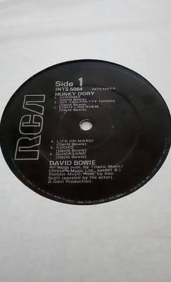 David Bowie Hunky Dory Rare RCA Black Label Irish Pressing LP