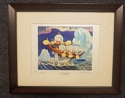 Carl Barks Art - Donald Duck - Luck Of The North #54/100 Cbe(Comic Book Edition