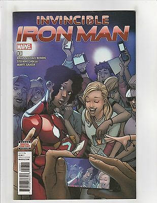 Invincible Iron Man (2017) #8 NM- 9.2 Marvel Comics Riri Williams