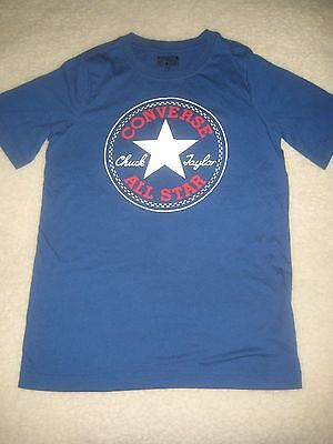 Converse All Star boys t-shirt, size 12-13 years, blue