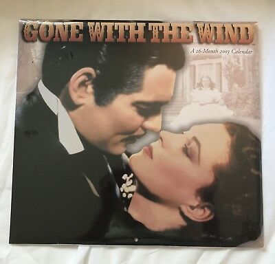 Gone with the Wind Special 2003 16-Month Photographic Calendar Sealed