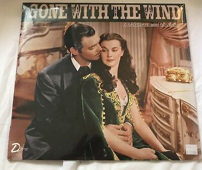 Gone With The Wind Movie Wall Calendar 16 Month 2001 Large Photo