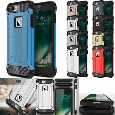 Shockproof Armor Hybrid PC+TPU Rugged Case Cover For iPhone 5 5S 6 6S 7 Plus SE