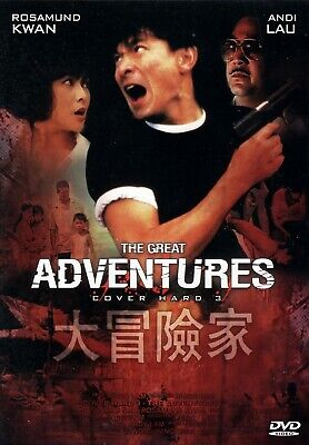 Cover Hard 3 - The Adventurers ( Action Kult ) von Ringo Lam mit Andy Lau, David