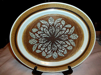 Franciscan Pottery Nut Tree Large Oval Platter