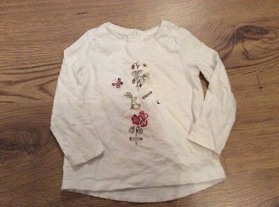 Lovely top Next 12-18 months long sleeves