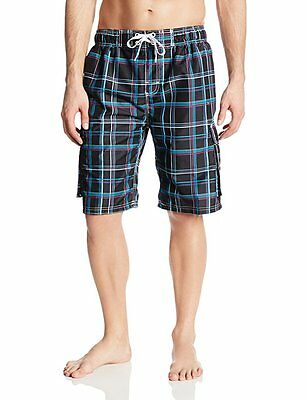 d11a2745a2 KANU SURF MILES Men's Swim Trunk Shorts Suit Plus Extended Size 4X ...