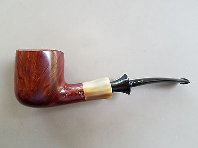 Savinelli Nonpareil 9121 Pipe Horn Ferrule Made In Italy Beautiful Condition