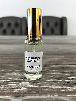 Creed Royal Oud 12 ml EDP Original Sample in Glass Spray Decanter
