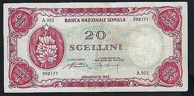 Somalia 1962 P-3 VF 20 Scellini *First Issue*