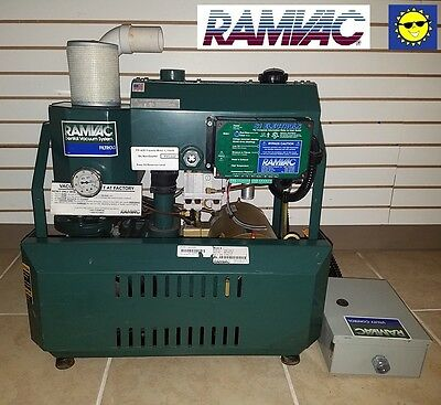 RamVac Bison 9 Dental Dry Vacuum System (9 to 12 Users)