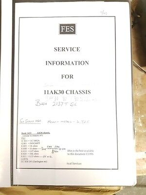 service manual for 11ak30 chassis