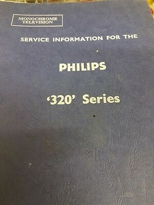 service information for the philips 320 series