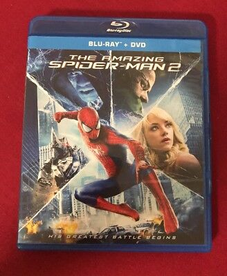 Spider-Man 2 Blu-Ray Disc and Case Only No Dvd/Digital FREE SHIPPING F20