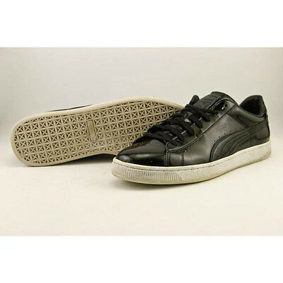 PUMA Black leather men's athletic sneakers size 11