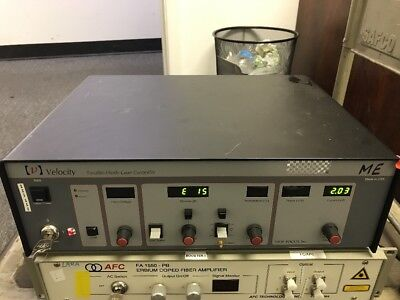 New Focus Velocity 6300 External Cavity Tunable Diode Laser Controller