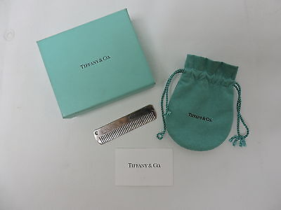 Tiffany & Co. Sterling Silver Baby Comb