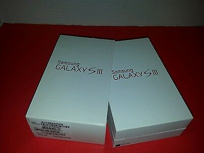 Samsung Galaxy S3 Empty White Box w/ Manuals