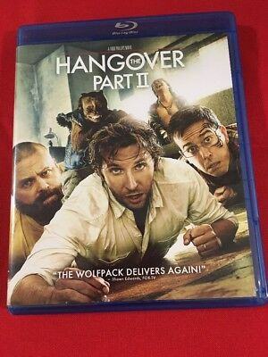 Hang the Over Part II Blu-Ray Disc& Case Only No Dvd/Digital Free Shipping F20