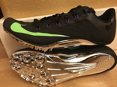 *new $120 Nike Zoom Victory Elite Track & Field Spikes Shoes 526627-100 Size 9.5