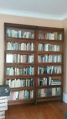 Globe Wernicke antique bookcase