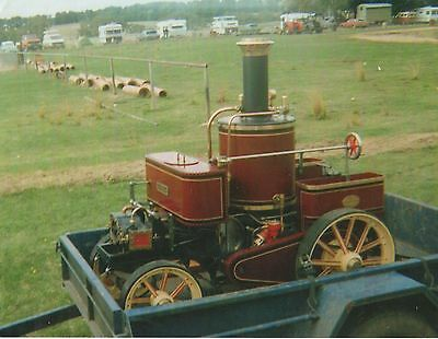 Burrell Steam Tractor 1/2 Scale built in 1989 with 4 carriages seats 42 adults