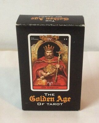 The Golden Age of Tarot~78 Cards~Red Begonia Company