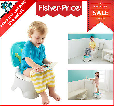 Baby Potty Training Step Stool Musical Reward Toddler Chair Toilet Seat Boy NEW