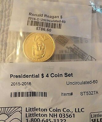 presidential $4 coin set 2015-16 uncirculated