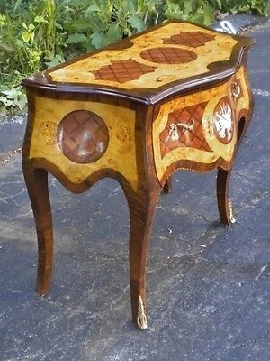 LUXURIOUS French Louis XV style large Console Commode