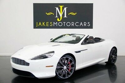 2015 Aston Martin DB9 Volante Carbon Edition ($229K MSRP) 2015 ASTON MARTIN DB9 VOLANTE CARBON EDITION, $229K MSRP! 8K MILES, WHITE/ BLACK