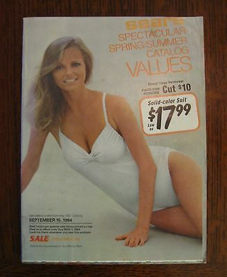 SEARS 1984 SUMMER Spring Catalog Vintage 80s Fashion Cheryl Tiegs Arnold Palmer