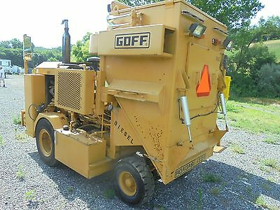 goff 120d30 shot blasting machine shotblaster shotblast  road profiler