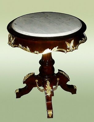 LARGE Louis XV style Marble top/Side Centre table