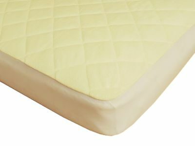 Waterproof Fitted Bamboo Crib and Toddler Mattress Protector / Pad / Cover