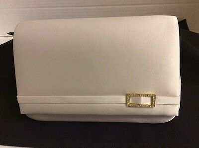 NEW in Box Ivory Ladies Satin Handbag/Evening Bag Colorful Creations #9320
