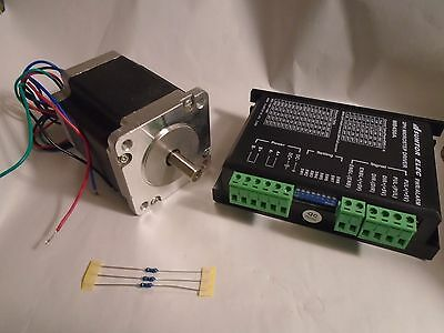 New Sumtor 2 Phase 60Hs7640A4 4.0A Mill Robot Lathe Cnc Stepper Motor W Mb450 Dr